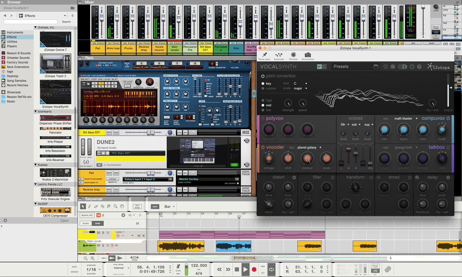 Reason 11 by Propellerhead Comes to Ableton Live and Other DAWs - Electronic Music Collective