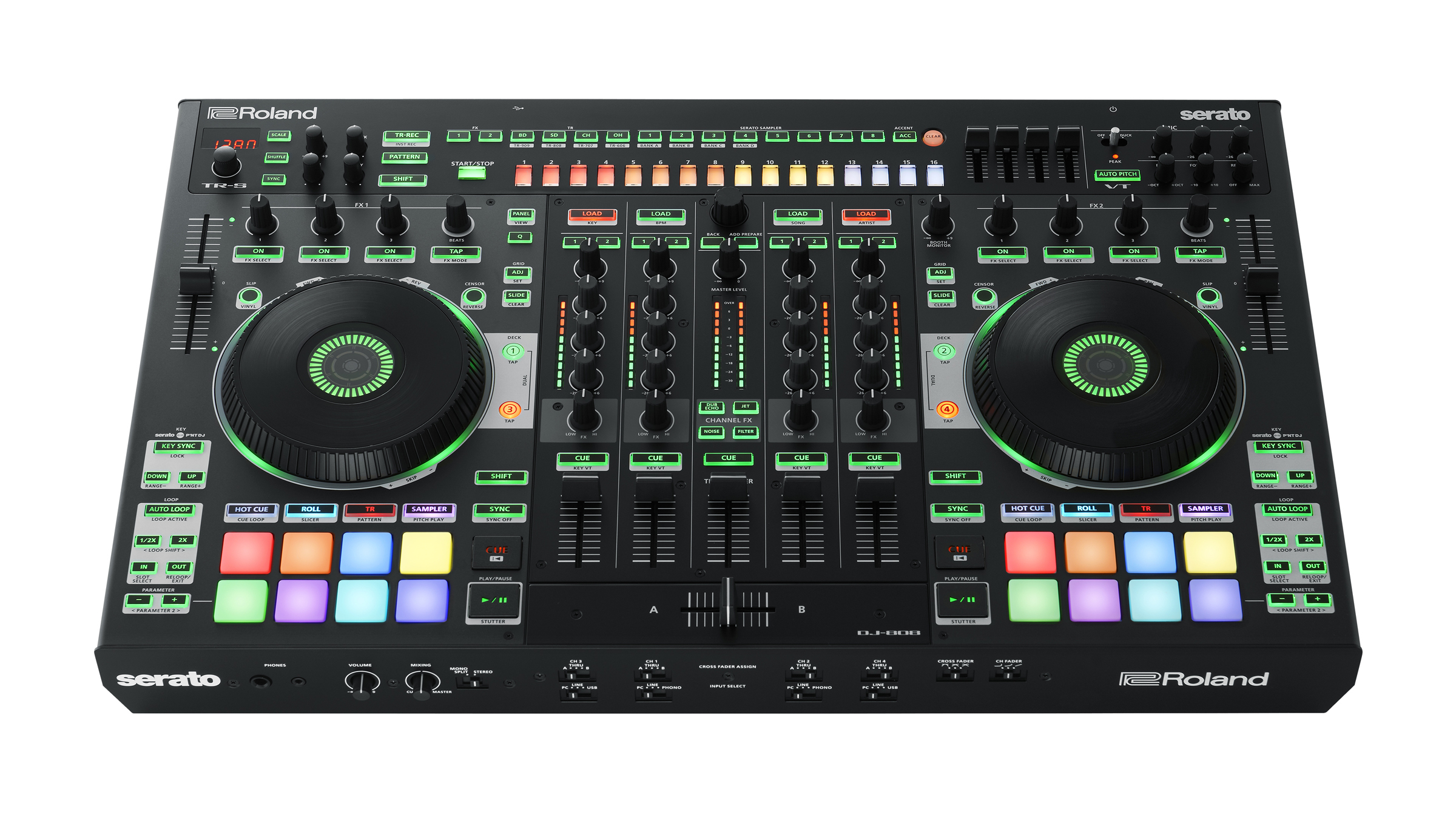 http://www.clynemedia.com/Roland/CES17_PreShow/Roland_DJ-808_Top_Angle.jpg