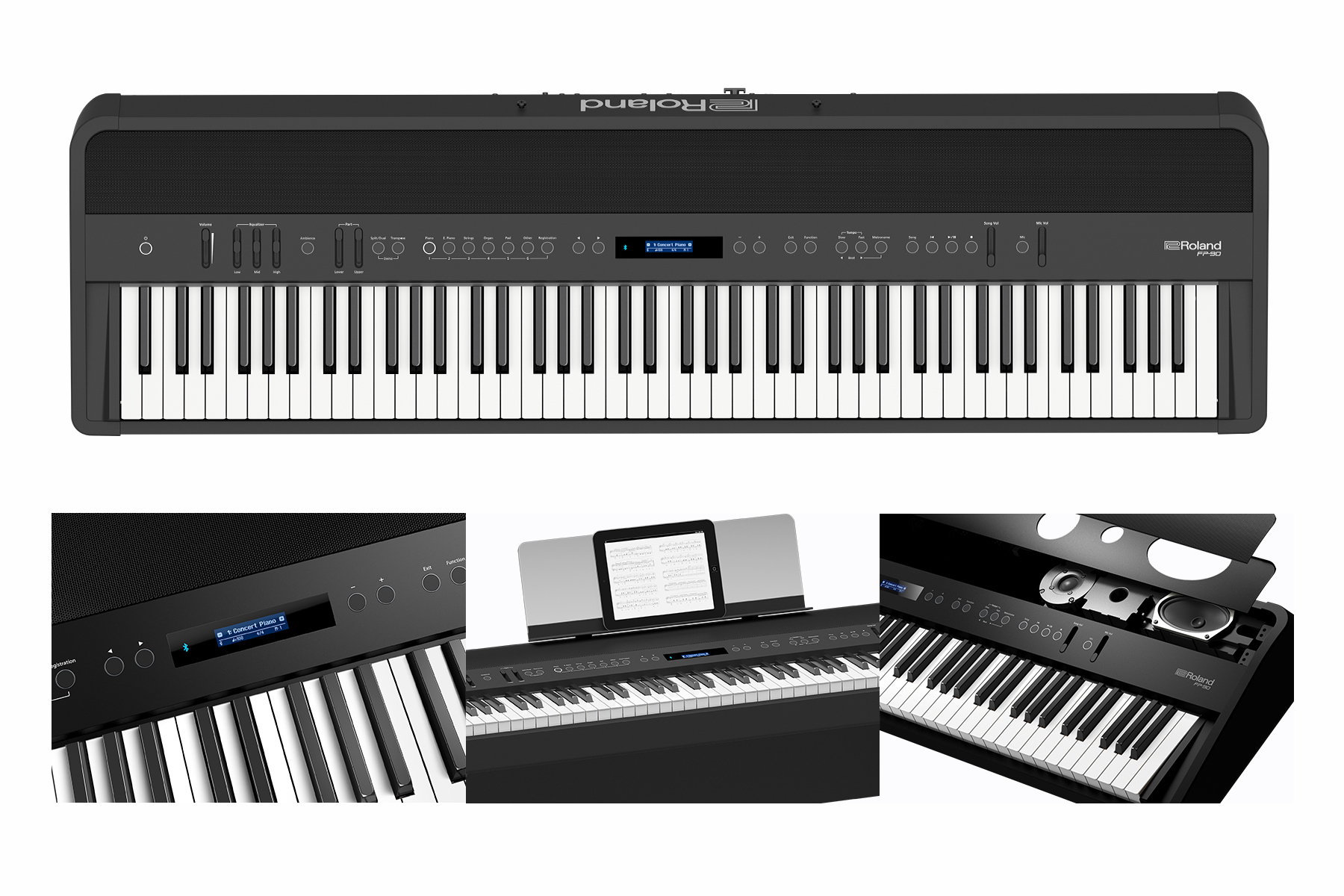 roland fp 90 digital piano receives top prize in 2017 red dot product design awards. Black Bedroom Furniture Sets. Home Design Ideas