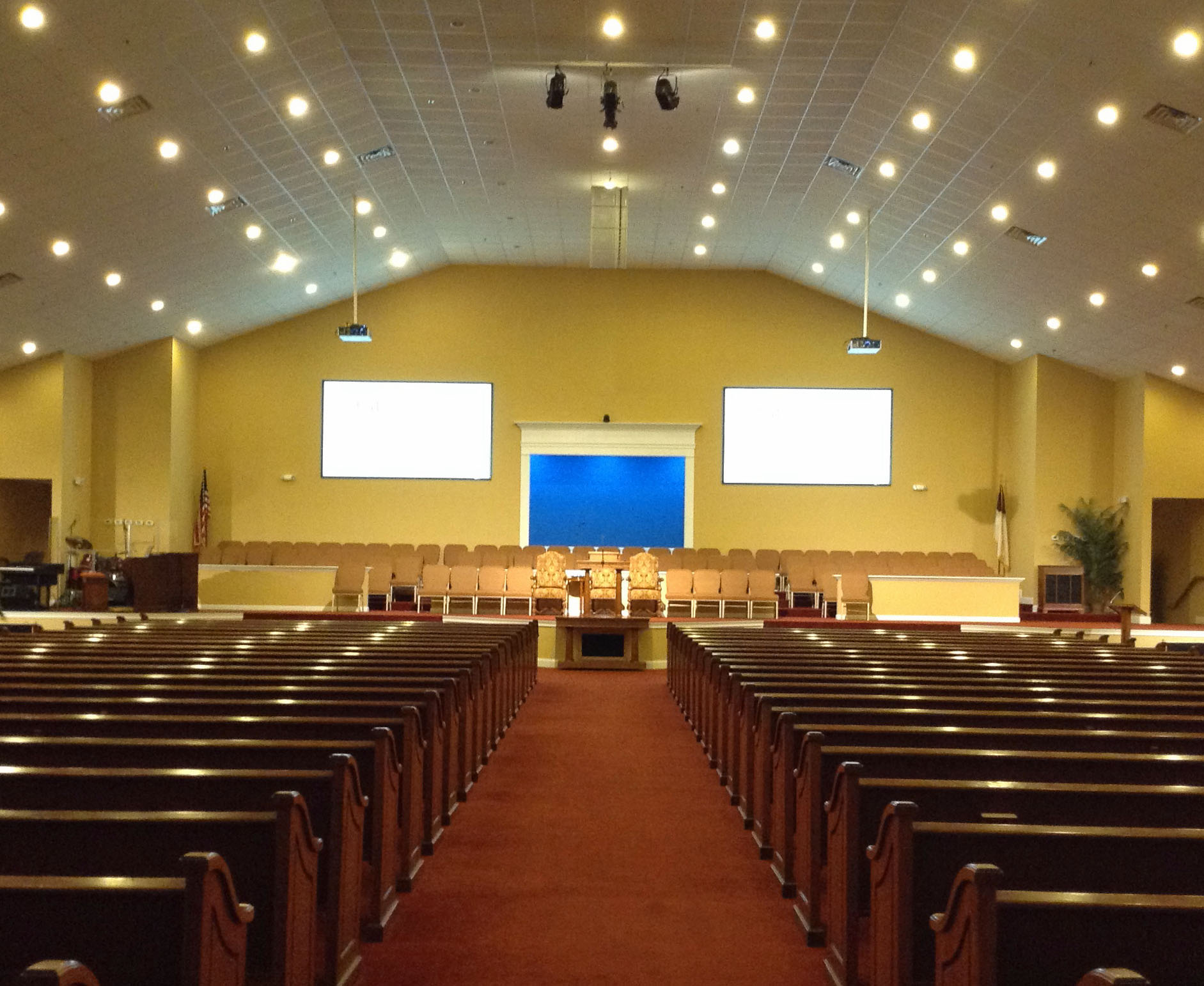 Pro Provides A/V And Lighting For Georgia's New Hope Baptist Church ...