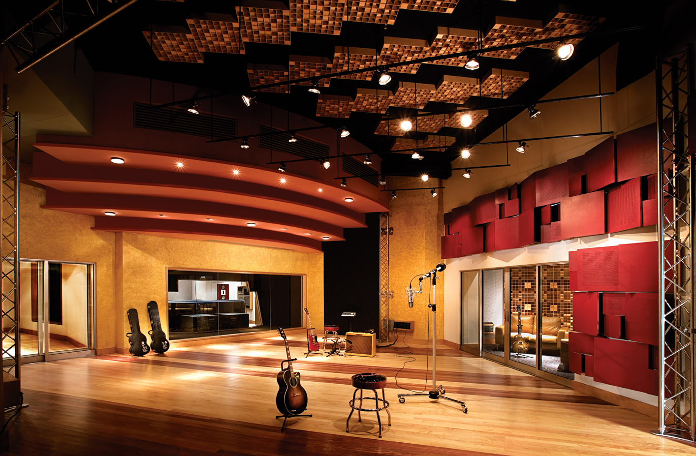 Photo Caption Studio X At The Las Vegas Based Palms Recently Upgraded With A New Avid Pro Tools HDX System Sourced And Supplied Through GC