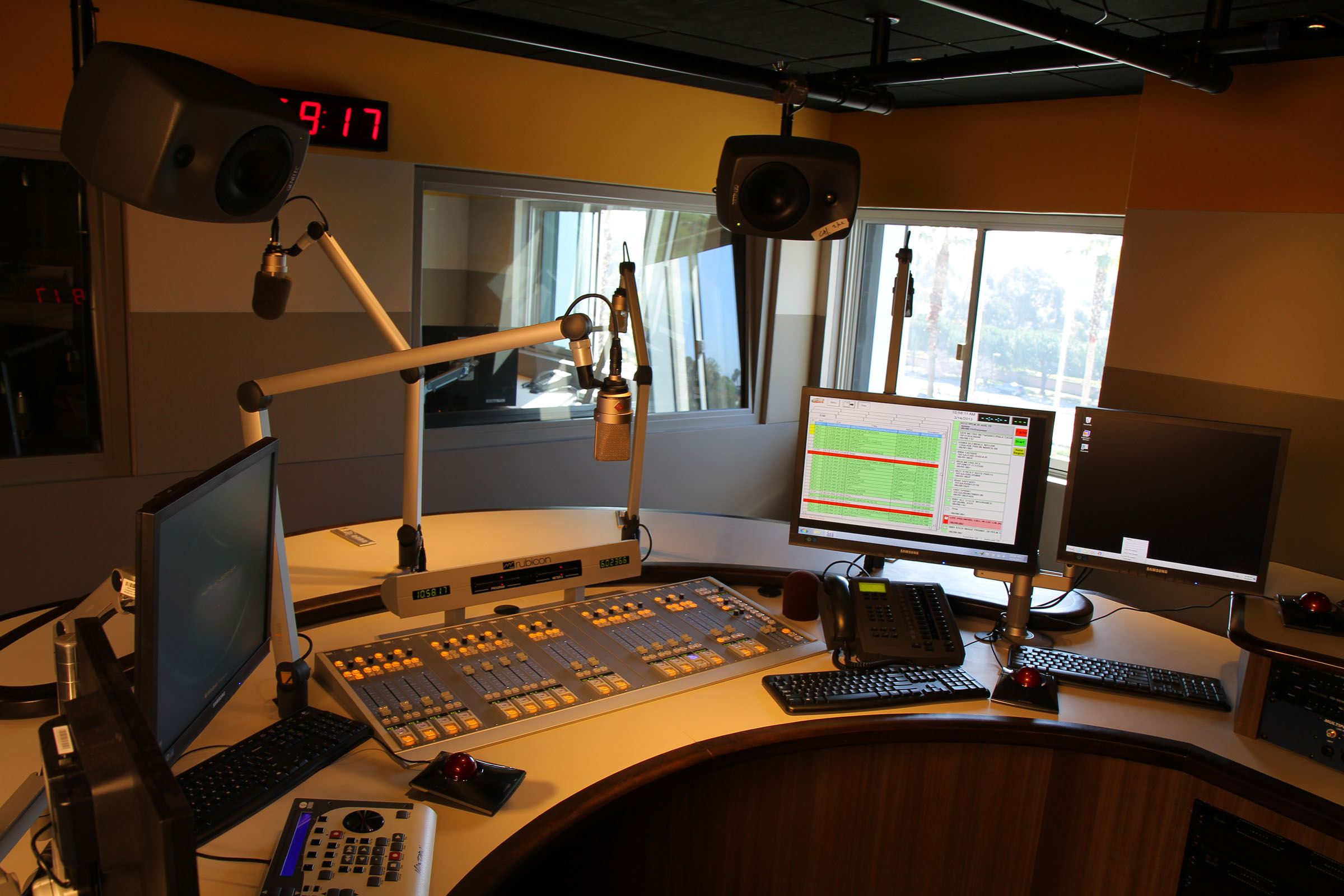 Latino broadcasting giant Univision consolidates radio facilities as