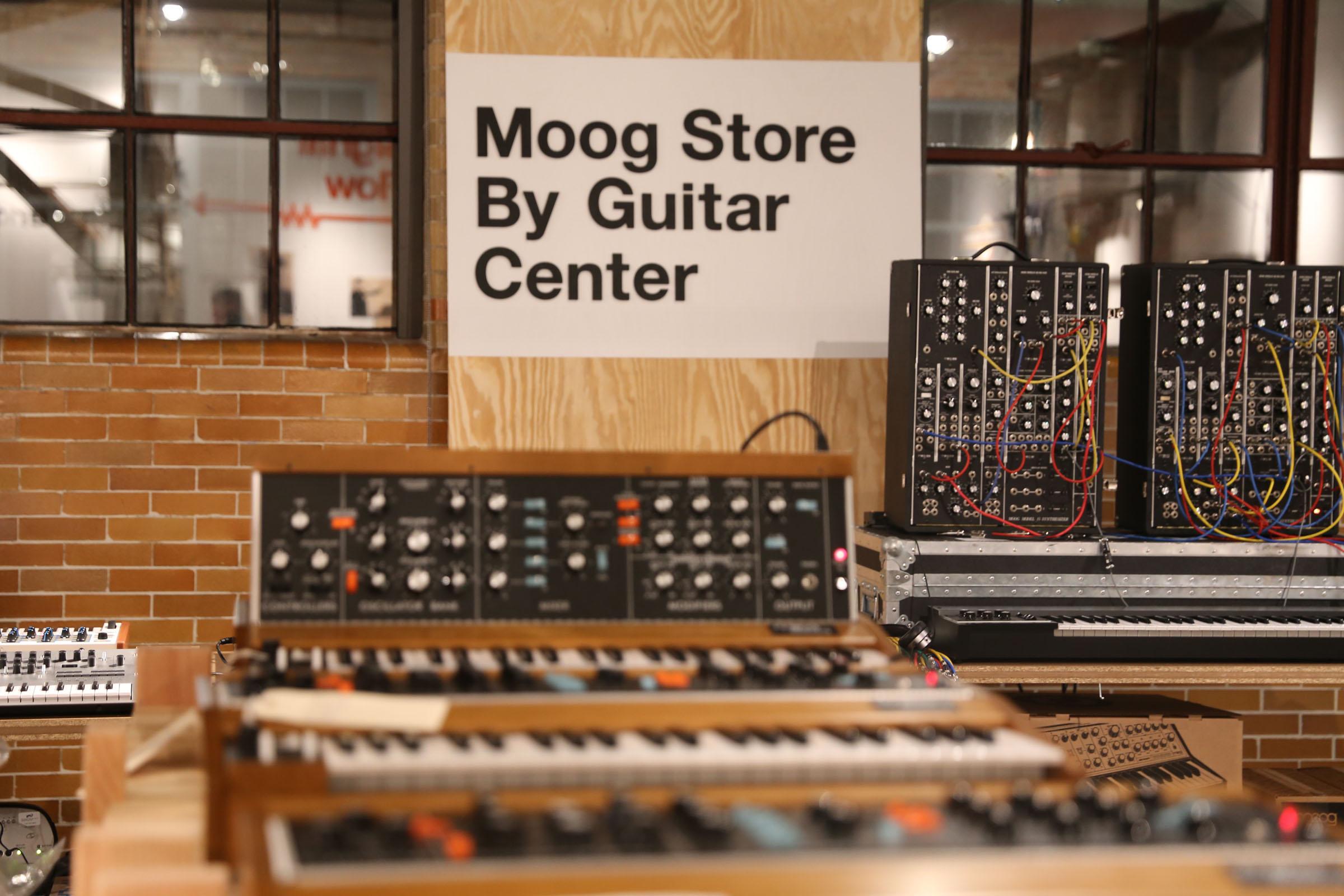 guitar center named exclusive retail partner for moogfest 2016 live design briefing room press. Black Bedroom Furniture Sets. Home Design Ideas