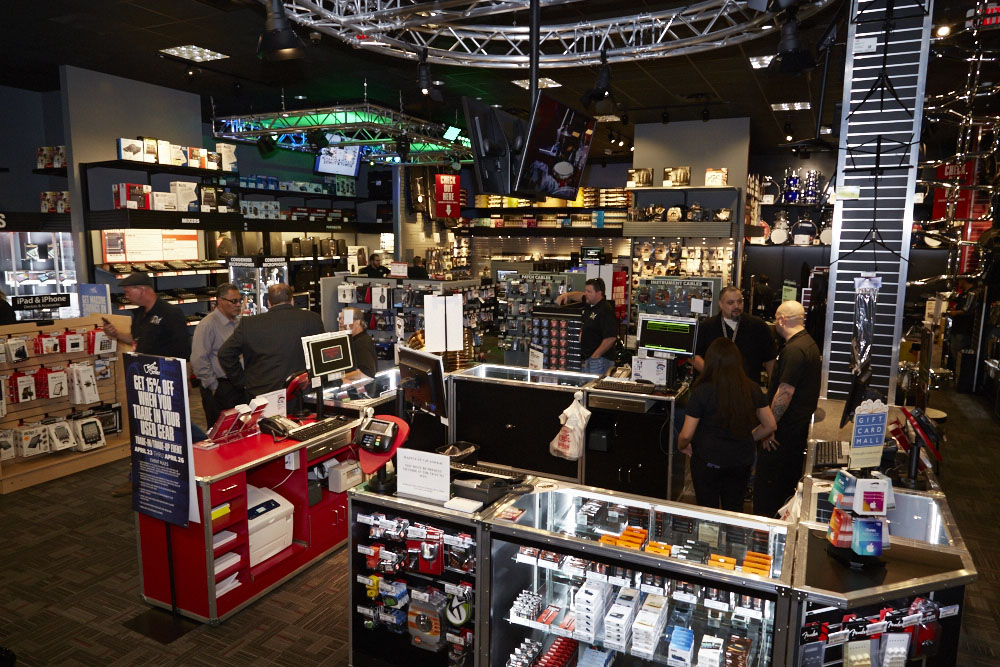 Guitar Center is a company that really needs to be judged on a store by store basis. Overall, their business practices aren't that bad, it's the people who work there that either make or break the store.